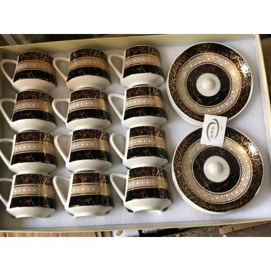 طقم فناجين قهوة 12 قطعة